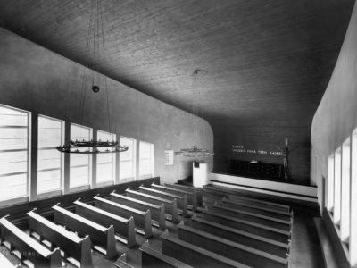 Kannonkosken kirkko, Kannonkoski, P.E. Blomstedt
