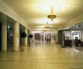 Kauppakorkeakoulu, Helsinki, Hugo Harmia, Woldemar Baeckman