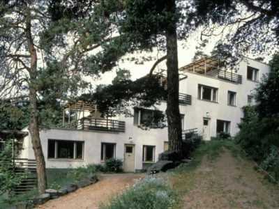 Portaaton kerrostalo, Kauttua, Alvar Aalto