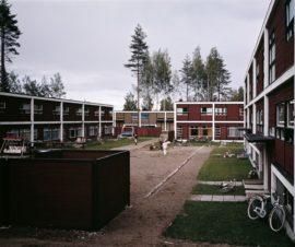 Kortepohjan asuinalueen rivitalokorttelit, Jyväskylä, Bengt Lundsten