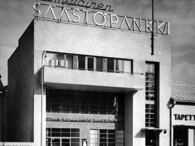 Kotkan Suomalainen Säästöpankki, Kotka, P.E. Blomstedt