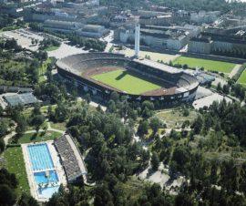 Olympiarakennukset, Helsinki, Useita suunnittelijoita