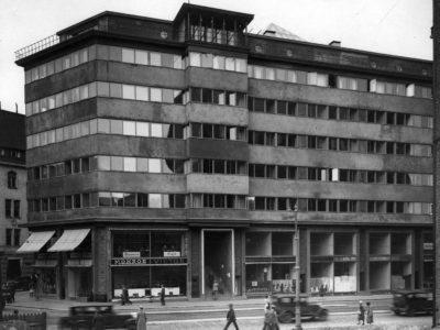 Henkivakuutusyhtiö Pohjan liiketalo, Helsinki, Oiva Kallio