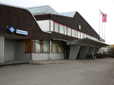 Rovaniemen linja-autoasema, Rovaniemi, Niilo Pulkka, Kaarlo Leppänen