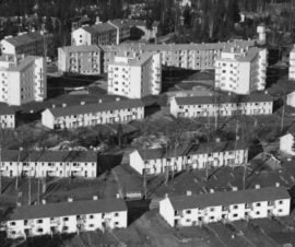 Sahanmäen asuntoalue, Helsinki, Hilding Ekelund