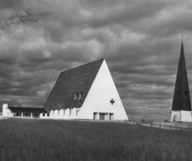 Sallan kirkko, Sallla, Eero Eerikäinen, Osmo Sipari