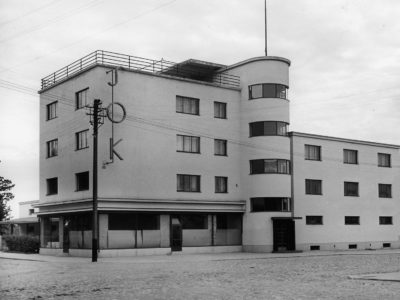 SOK:n konttori- ja varastorakennus, Rauma, Erkki Huttunen