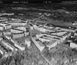 Taka-Töölön asuntoalue, Helsinki, Useita suunnittelijoita