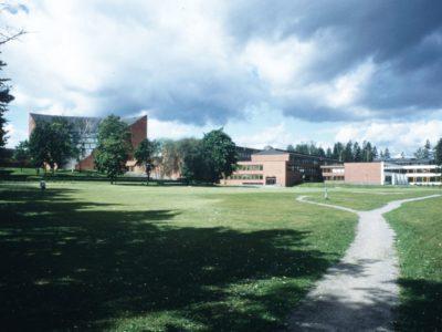 Teknillinen korkeakoulu, Espoo, Alvar Aalto