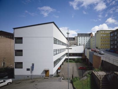 Suomenkielisen työväenopiston laajennus, Helsinki, Aulis Blomstedt