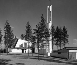 Vuoksenniskan kirkko, Imatra, Alvar Aalto